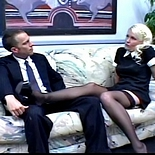 Hot blonde maid0. Hot French maid takes time out to grind her kitty on her employers face